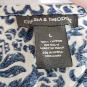 Chelsea & Theodore Dresses - Chelsea & Theodore tea length dress full skirt